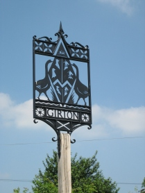 Girton Sign