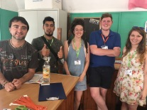The Social Activities Team for Summer 2017