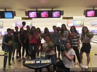 Bowling strikes!