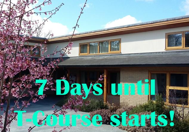 7 days until T1 blog